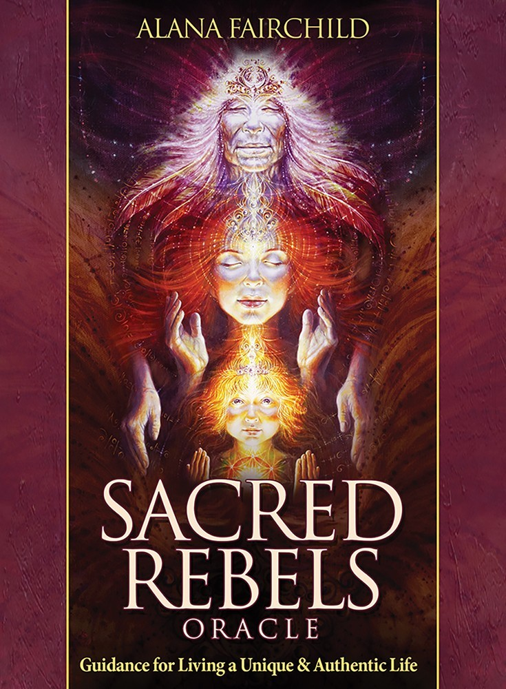 SACRED REBELS ORACLE CARDS by Alana Fairchild